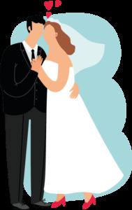 Äktenskapsförord vid giftemål