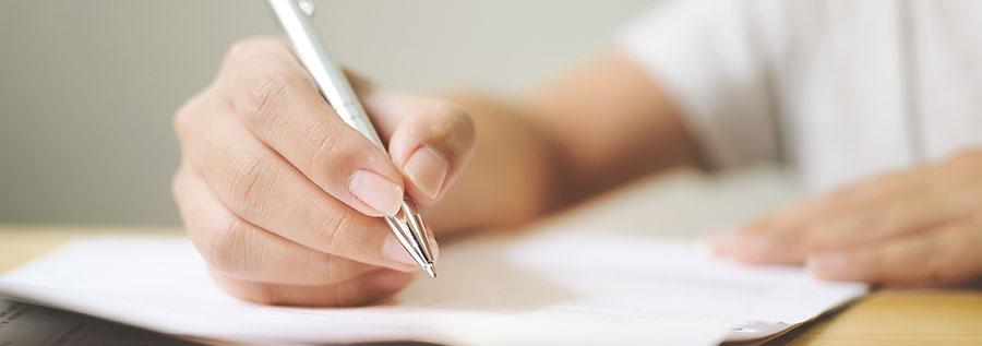 Att skriva gåvobrev själv